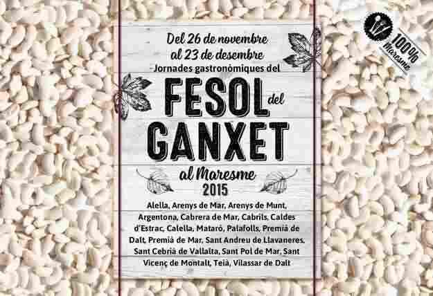 Jornades Gastronòmiques del Fesol del Ganxet al Maresme 2015