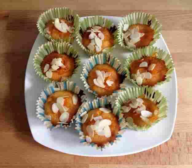 Recepta: Muffins d'ametlla i taronja