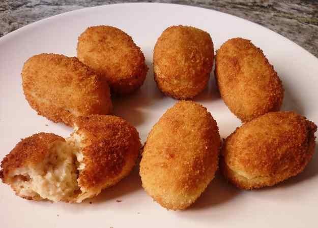 Croquetes de pollastre