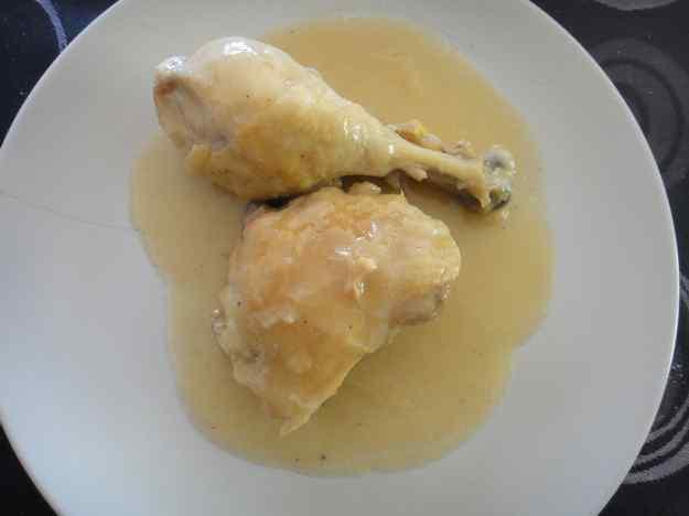 Pollastre guisat amb cervesa i cebes (99/164)