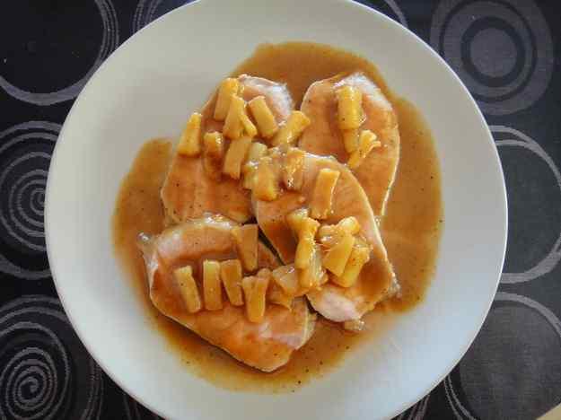 Porc al forn amb pinya (109/164)