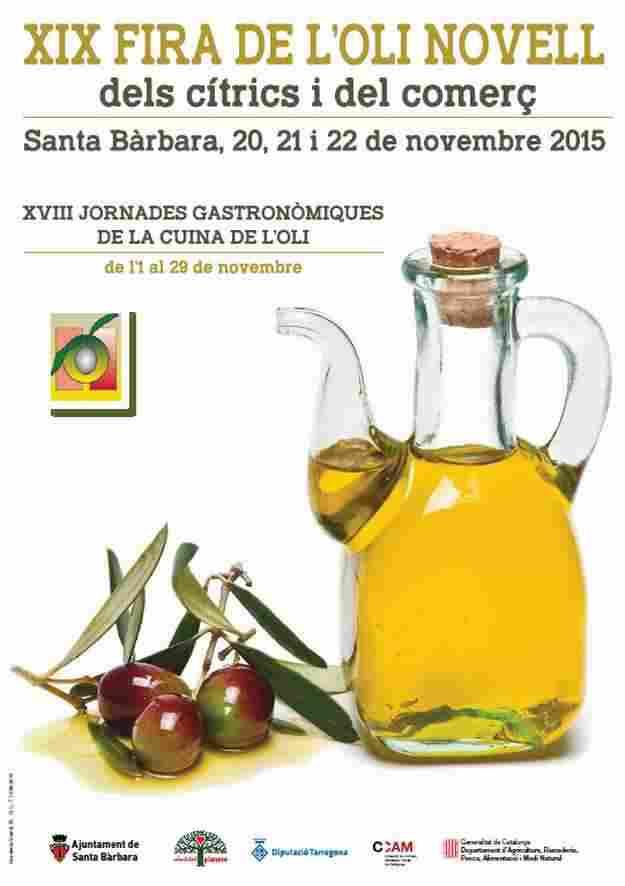 XIXa Fira de l'Oli Novell i els Cítrics Santa Bàrbara 2015