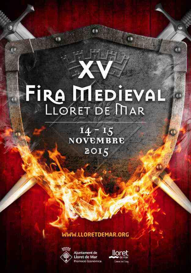 XVa Fira Medieval – Lloret de Mar 2015