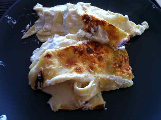 Lasagna blanca al forn (3/12)