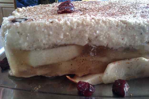 Tarta de poma versió Martina