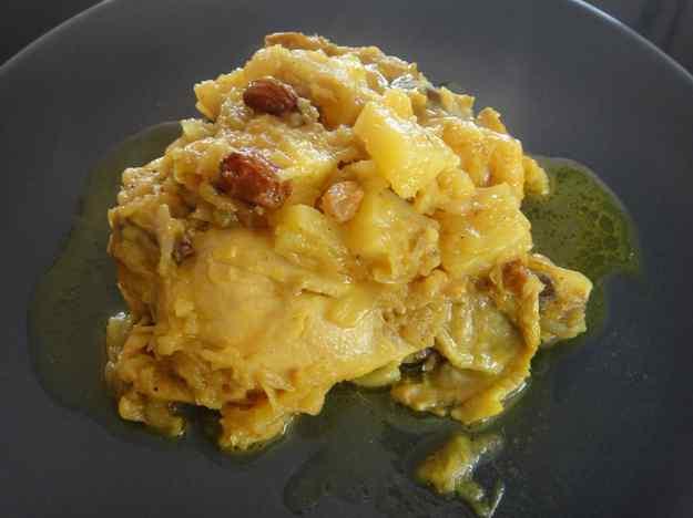 Pollastre al curry amb pinya (28/164)