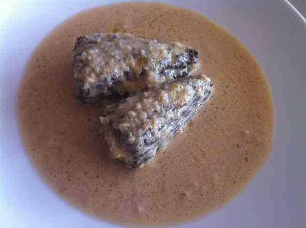 Múrgoles farcides de foie i butifarra (76/130)