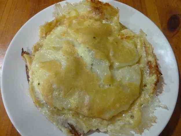 Pastís de Formatge Reblochon amb patates 01