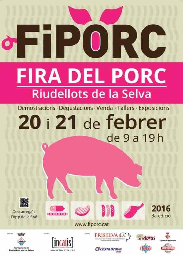 """3a Fiporc """"Fira del Porc"""" - Riudellots de la Selva 2016"""