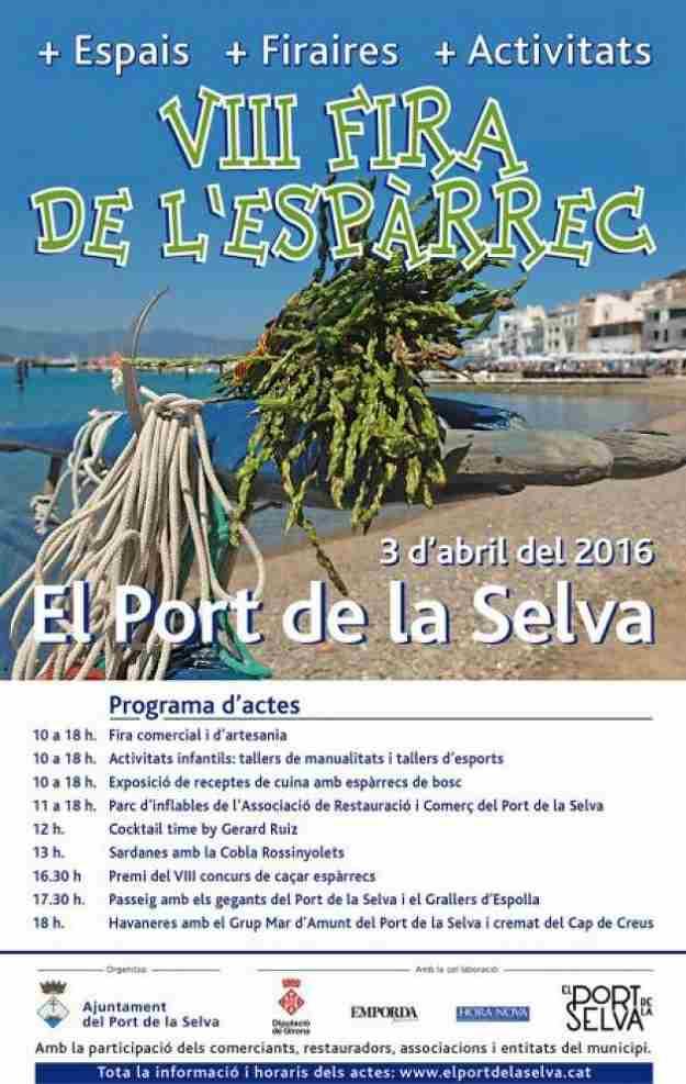 VIIIa Fira de l'Espàrrec El Port de la Selva 2016