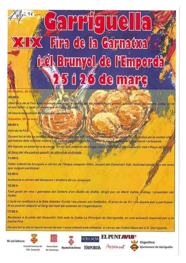 XIXa Fira de la Garnatxa i el Brunyol – Garriguella