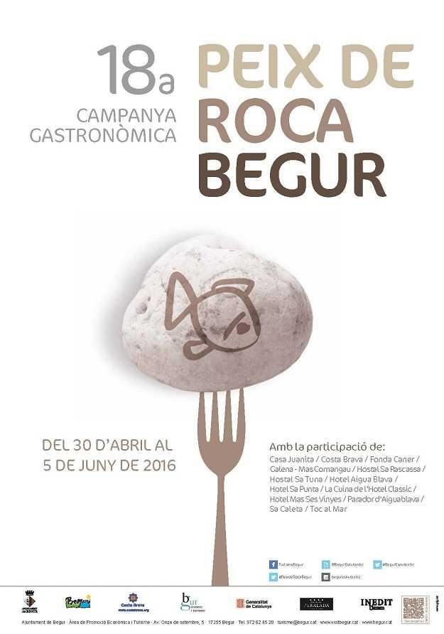 18a Campanya Gastronòmica del Peix de Roca – Begur 2016