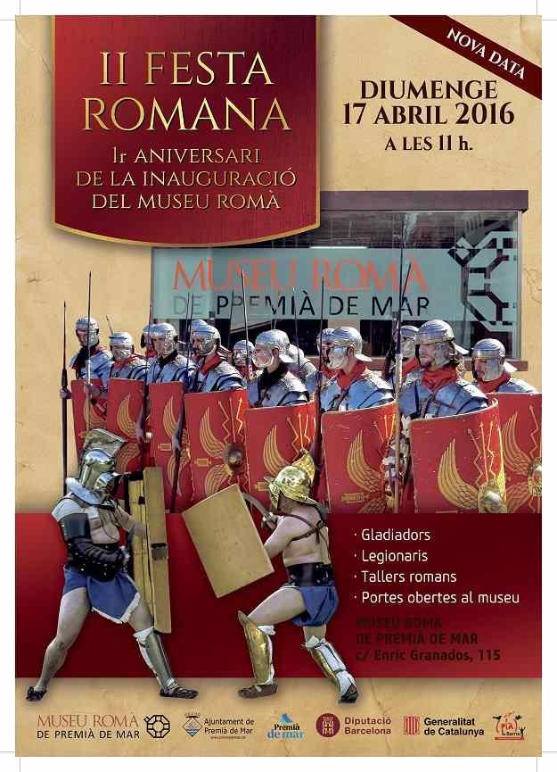 IIa Festa Romana Premià de Mar 2016