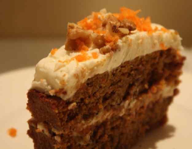 Pastís de pastanaga (Carrot cake)