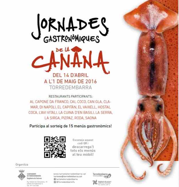 Jornades Gastronòmiques de la Canana – Torredembarra 2016