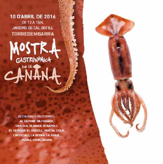 Jornades Gastronòmiques de la Canana (Mostra) – Torredembarra 2016