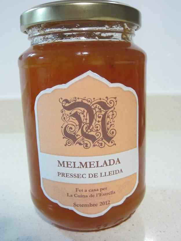 Melmelada de préssec de Lleida