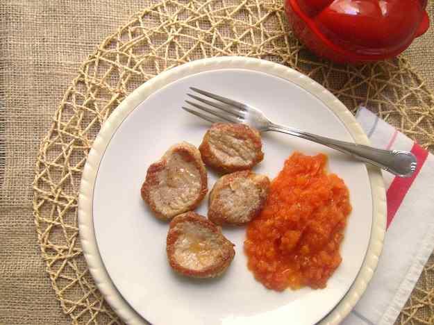 Filet de porc amb tomàquet natural