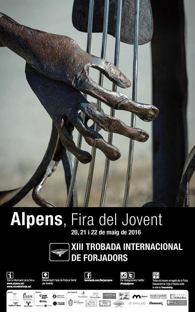 Fira del Jovent - XIIIa Trobada de Forjadors Alpens - 2016