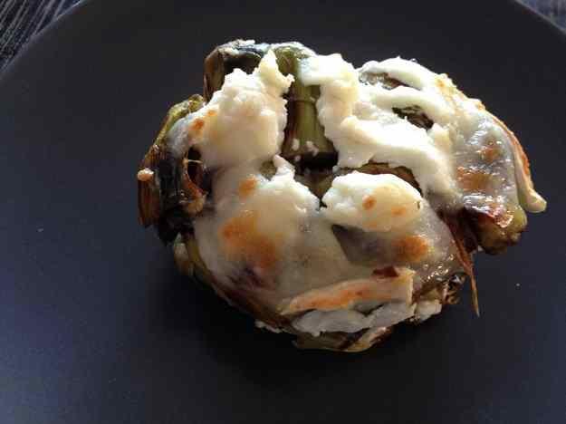 Milfulles de carxofa amb formatge de cabra (94/135)