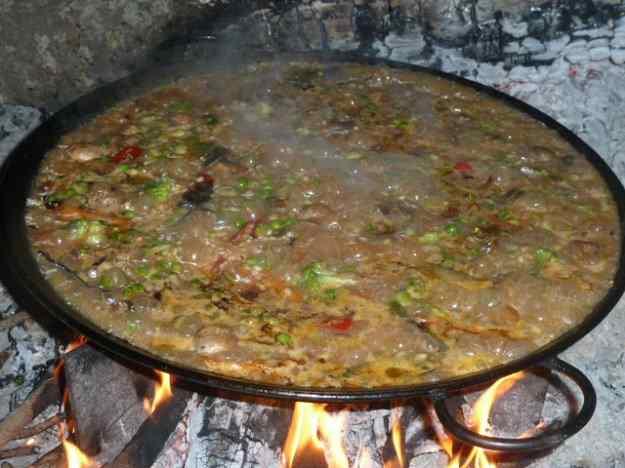 Paella d'arròs amb verdures 02