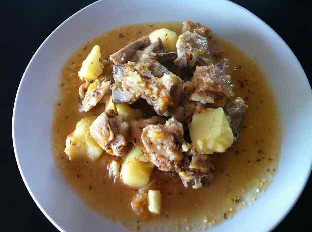 Platillo de xai amb patates (108/130)