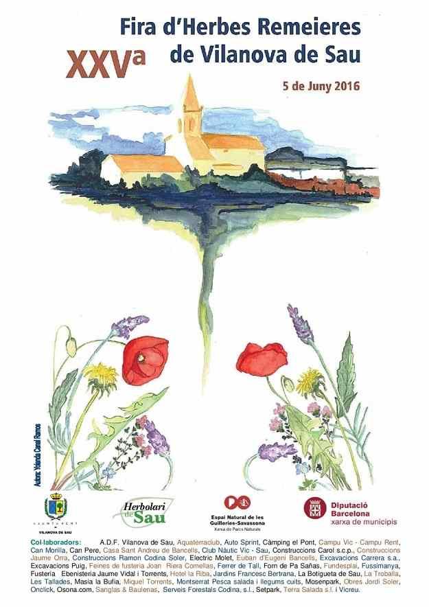 XXVa Fira d'Herbes Ramaieres – Vilanova de Sau 2016