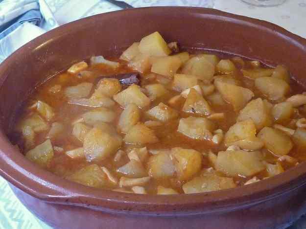 Sèpia amb patates