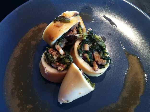 Calamars farcits de verdures i escamarlans (87/135)