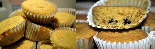 Muffins de castanyes i xocolata
