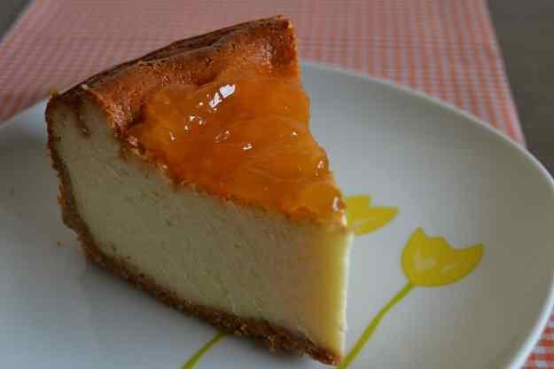 El pastís de formatge en majúscules