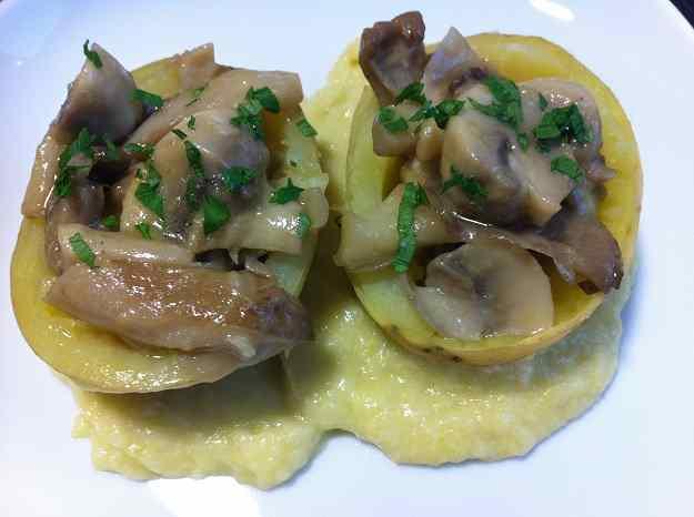 Patates farcides de bolets