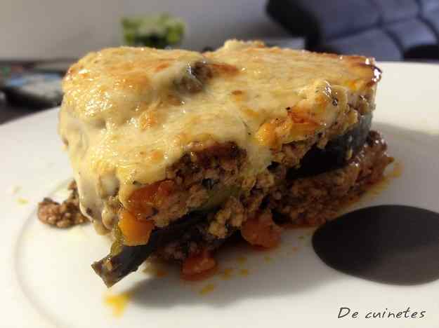 Mussaca grega (moussaka)