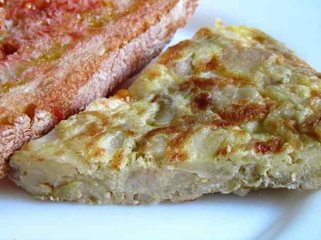Truita de patata i ceba