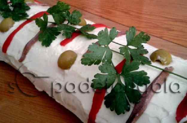 Braç de gitano de patata i tonyina