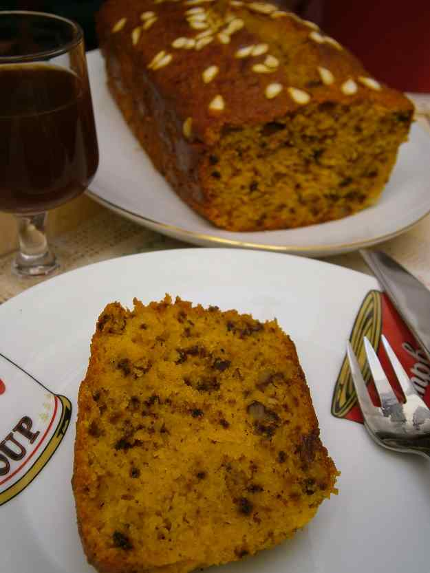 Cake de carabassa