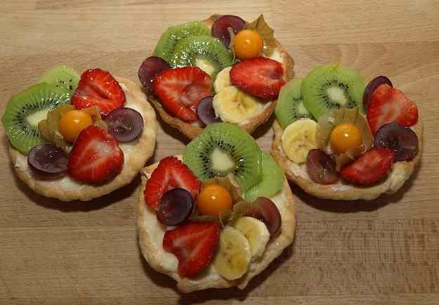 Pastissets de fruita