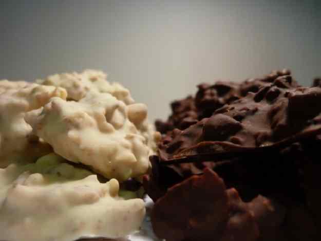 Roques de xocolata