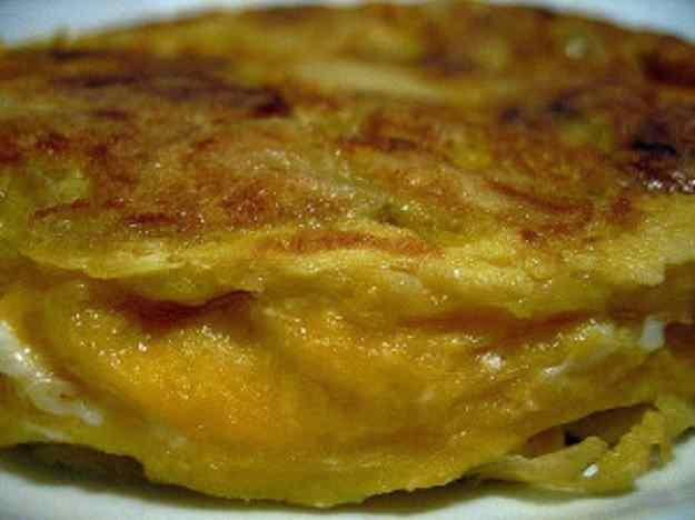 Truita de patates xips