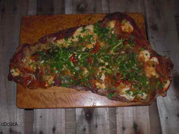Matambre a la pizza Fugazzetta